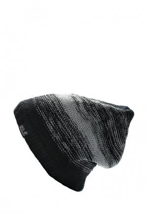 Шапка Jack Wolfskin COLORFLOAT KNIT CAP. Цвет: черный