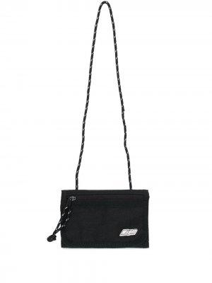 Кошелек на шнурке MSGM. Цвет: черный