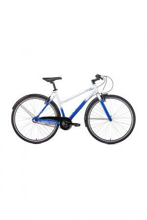 Велосипед Corisca 28 2019 Forward. Цвет: белый, синий