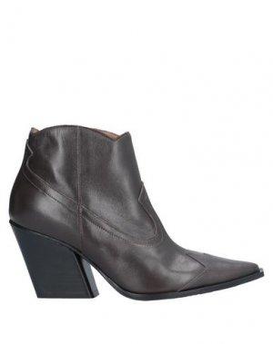 Полусапоги и высокие ботинки GIANCARLO PAOLI. Цвет: темно-коричневый