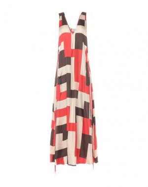Длинное платье ALYSI. Цвет: бежевый