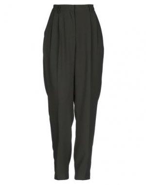 Повседневные брюки AMERICAN VINTAGE. Цвет: темно-зеленый