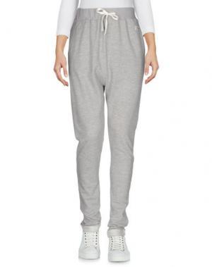 Повседневные брюки I DIG DENIM. Цвет: серый