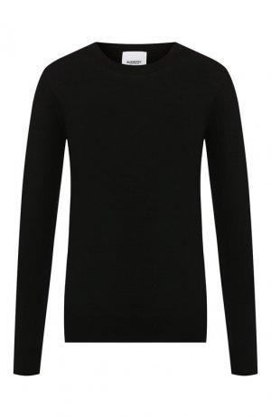 Шерстяной пуловер Burberry. Цвет: черный