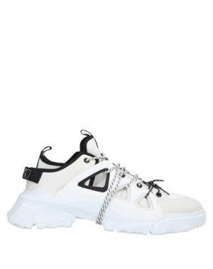 Кеды и кроссовки McQ Alexander McQueen. Цвет: белый