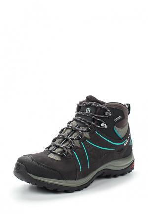 Ботинки трекинговые Salomon ELLIPSE 2 MID LTR GTX® W. Цвет: серый
