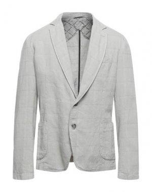 Пиджак TRUSSARDI JEANS. Цвет: светло-серый