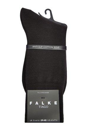 Носки Tiago с противоскользящей отделкой из мерсеризованного хлопка FALKE. Цвет: коричневый