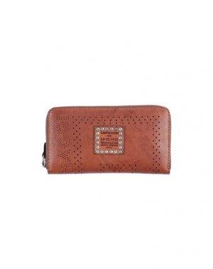 Бумажник CAMPOMAGGI. Цвет: коричневый