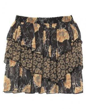 Мини-юбка PLEASE. Цвет: черный