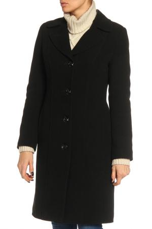 Пальто ELEGANT LEDI. Цвет: черный