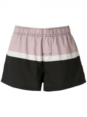 Пляжные шорты Riva Osklen. Цвет: черный