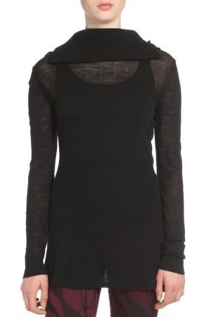 Майка Versace. Цвет: черный