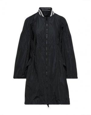 Легкое пальто ERMANNO SCERVINO. Цвет: черный