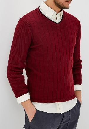 Пуловер Hopenlife. Цвет: бордовый