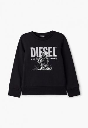 Свитшот Diesel. Цвет: черный