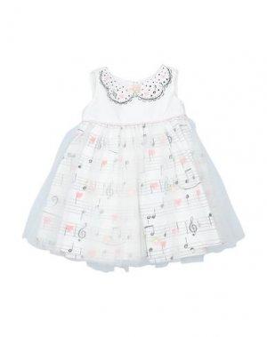 Платье KATE MACK. Цвет: белый