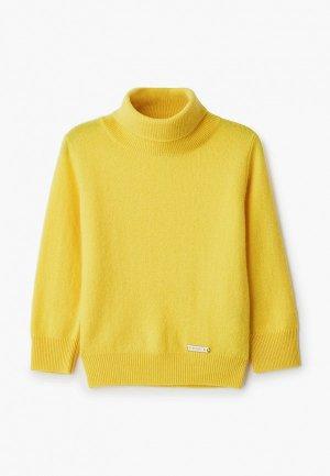 Свитер Norveg Cashmere. Цвет: желтый