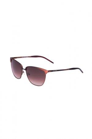 Очки солнцезащитные Enni Marco. Цвет: бронза