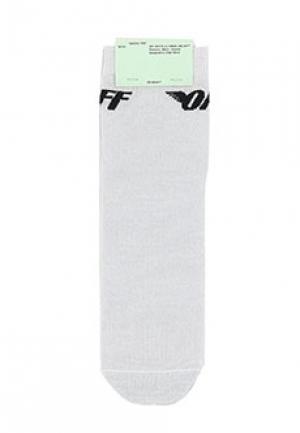 Носки OFF-WHITE. Цвет: белый