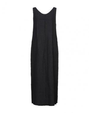Длинное платье 10SEI0OTTO. Цвет: стальной серый