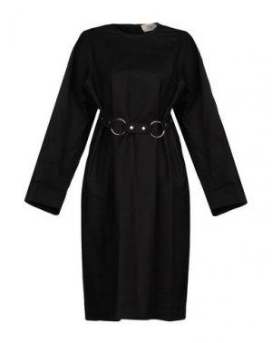 Платье до колена PORTS 1961. Цвет: черный