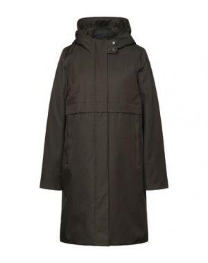 Легкое пальто ELVINE. Цвет: темно-зеленый
