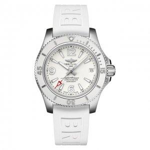 Часы Superocean Automatic 36 Breitling. Цвет: белый