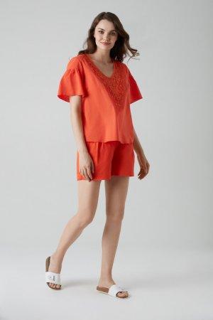 Комплект Laete. Цвет: оранжевый