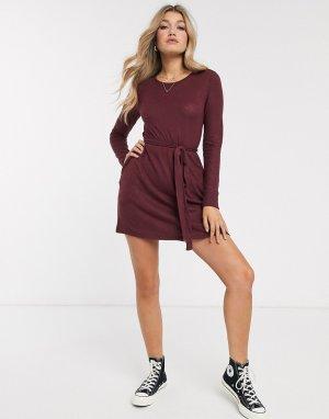 Свободное платье -Красный Abercrombie & Fitch