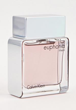 Туалетная вода Calvin Klein Euphoria For Men 50 мл. Цвет: белый