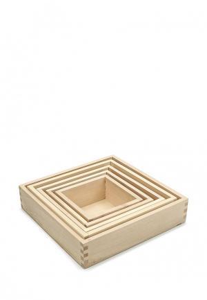 Игрушка Paremo Вкладывающиеся коробочки. Цвет: разноцветный
