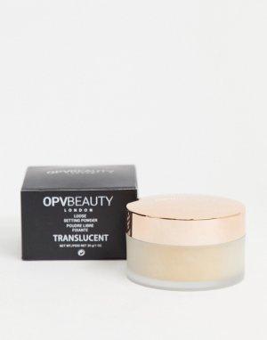 Полупрозрачная фиксирующая пудра Beauty-Бесцветный OPV
