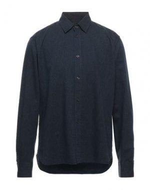 Pубашка DENHAM. Цвет: темно-синий