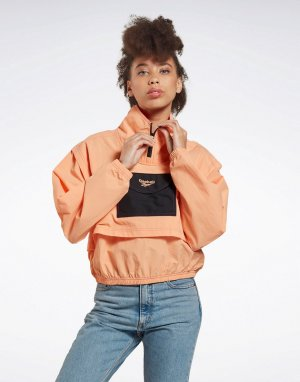 Оранжевая ветровка -Оранжевый Reebok