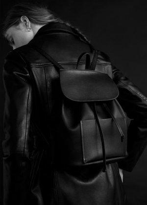Рюкзак с карманом спереди - Bahamas Mango. Цвет: черный