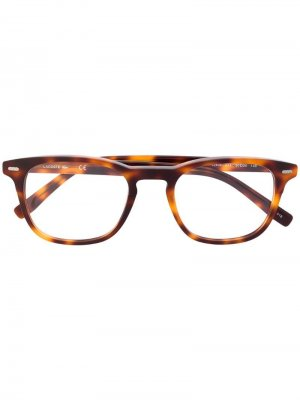 Очки в квадратной оправе Lacoste. Цвет: коричневый
