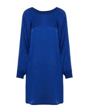 Короткое платье ENZA COSTA. Цвет: ярко-синий