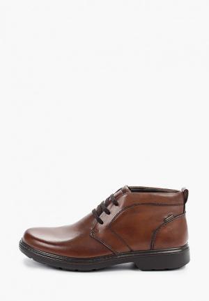 Ботинки Ara с увеличенной полнотой К. Цвет: коричневый