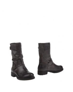 Полусапоги и высокие ботинки POLICE 883. Цвет: темно-коричневый
