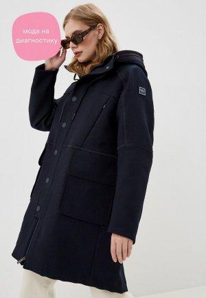 Куртка утепленная High. Цвет: синий
