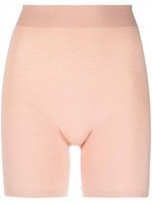 Моделирующие шорты Wolford. Цвет: розовый