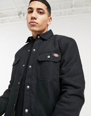 Черная рубашка с подкладкой -Черный Dickies