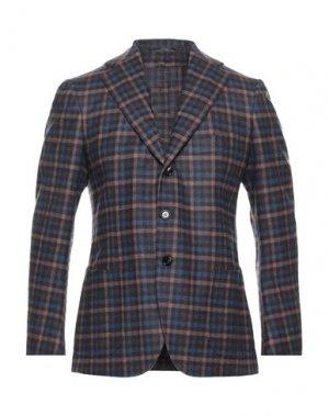 Пиджак CESARE ATTOLINI. Цвет: синий