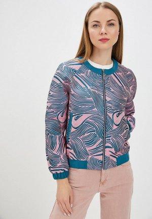 Куртка Imago. Цвет: розовый