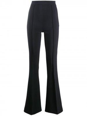 Расклешенные брюки с завышенной талией Elisabetta Franchi. Цвет: черный