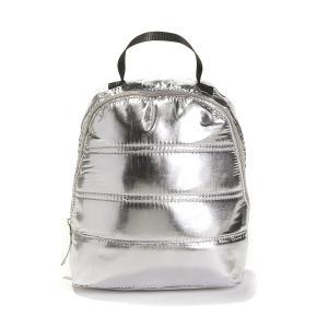 Рюкзак детский с металлическим блеском LA REDOUTE COLLECTIONS. Цвет: серебристый