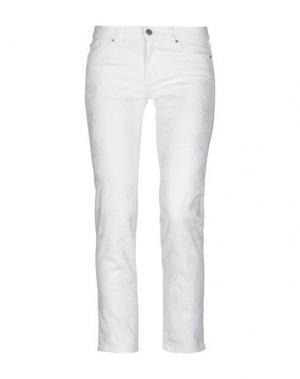 Джинсовые брюки BOSS HUGO. Цвет: белый