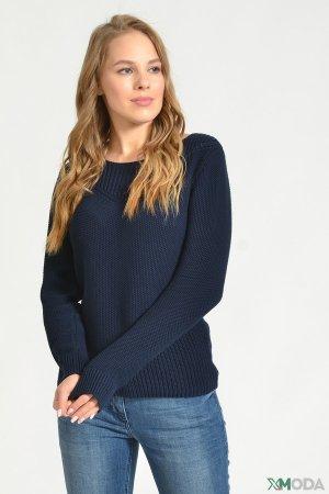 Пуловер Via Appia. Цвет: синий