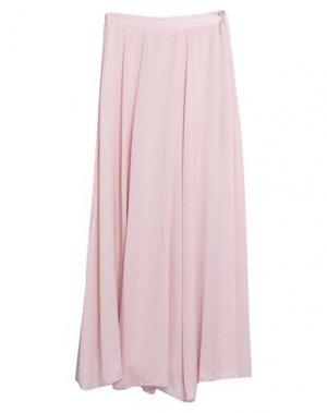 Длинная юбка DRY LAKE.. Цвет: пудровый